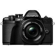 Olympus E-M10 Mark III čierny/čierny + 14–42 mm II R - Digitálny fotoaparát