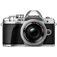Olympus E-M10 Mark III strieborný/strieborný + 14–42 mm II R - Digitálny fotoaparát
