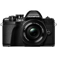 Olympus E-M10 Mark III čierny/čierny + ED 14–42 mm EZ - Digitálny fotoaparát