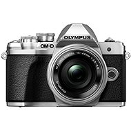 Olympus E-M10 Mark III strieborný/strieborný + ED 14–42 mm EZ - Digitálny fotoaparát