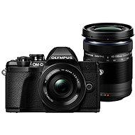 Olympus E-M10 Mark II Pancake čierne + ED 14 – 42EZ čierny + 40 – 150 mm R čierny - Digitálny fotoaparát