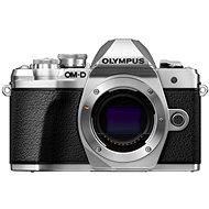 Olympus E-M10 Mark III strieborný + 14–42 II R strieborný + 40–150 mm R strieborný - Digitálny fotoaparát
