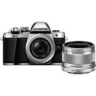 Olympus E-M10 Mark III strieborný/strieborný + 14–42 mm II R + M.ZUIKO 25 mm f/1,8 - Digitálny fotoaparát