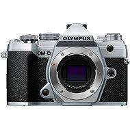 Olympus OM-D E-M5 Mark III telo strieborný - Digitálny fotoaparát