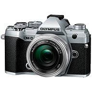 Olympus OM-D E-M5 Mark III + 14–42 mm EZ strieborný - Digitálny fotoaparát