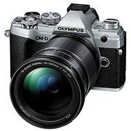 Olympus OM-D E-M5 Mark III + 12–200 mm strieborný - Digitálny fotoaparát