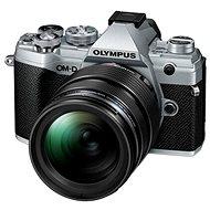 Olympus OM-D E-M5 Mark III + 12–40 mm PRO strieborný - Digitálny fotoaparát