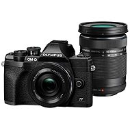 Olympus OM-D E-M10 Mark IV + 14–42 mm EZ + 40–150 mm R čierny - Digitálny fotoaparát