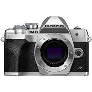 Olympus OM-D E-M10 Mark IV telo strieborný - Digitálny fotoaparát