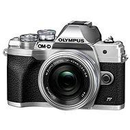 Olympus OM-D E-M10 Mark IV + 14–42 mm EZ strieborný - Digitálny fotoaparát