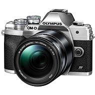 Olympus OM-D E-M10 Mark IV + 14–150 mm II strieborný - Digitálny fotoaparát