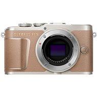 Olympus PEN E-PL10 telo, hnedý - Digitálny fotoaparát