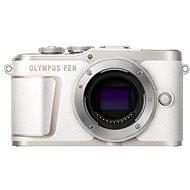 Olympus PEN E-PL10 telo, biely - Digitálny fotoaparát