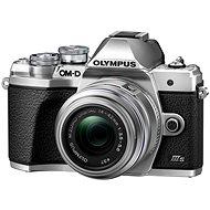 Olympus OM-D E-M10 Mark III S + 14 – 42 mm II R strieborný - Digitálny fotoaparát