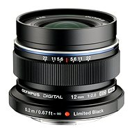 M.ZUIKO DIGITAL ED 12 mm 1:2.0 black - Objektív