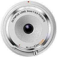 M.ZUIKO DIGITAL BCL 9 mm white - Objektív