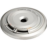 M.ZUIKO DIGITAL BCL 15 mm silver - Objektív