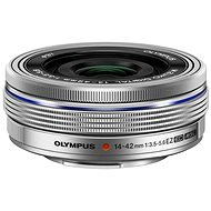 M.ZUIKO DIGITAL ED 14–42 mm f/3,5–5,6 EZ silver - Objektív