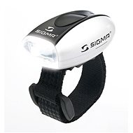 Sigma Micro biela/predné svetlo LED-biela - Svetlo na bicykel