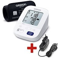 OMRON M3 Comfort intelli + ZDROJ (SADA), 4 roky záruka - Tlakomer