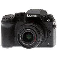 Panasonic LUMIX DMC-G7 čierny + objektív LUMIX G VARIO 14–42 mm (F3.5–5.6) - Digitálny fotoaparát
