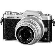 Panasonic LUMIX DMC-GF7 strieborný + objektív 12–32 mm - Digitálny fotoaparát