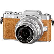 Panasonic LUMIX DMC-GF7 hnedý + objektív 12–32 mm - Digitálny fotoaparát