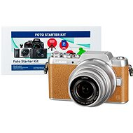 Panasonic LUMIX DMC-GF7 hnedý + objektív 12–32 mm + Alza Foto Starter Kit - Digitálny fotoaparát