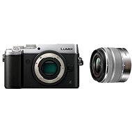 Panasonic LUMIX DMC-GX8 strieborný + objektív 14–42 mm/F3.5–5.6 ASPH - Digitálny fotoaparát