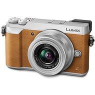 Panasonic LUMIX DMC-GX80 hnedý + objektív 12–32 mm