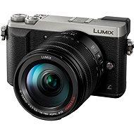 Panasonic LUMIX DMC-GX80 strieborný + objektív 14–140 mm - Digitálny fotoaparát