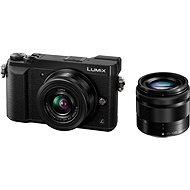 Panasonic LUMIX DMC-GX80 čierny + objektív 12-32 mm + objektív 35-100 mm - Digitálny fotoaparát