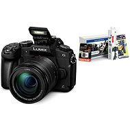 Panasonic LUMIX DMC-G80 + objektív 12-60mm + Alza Foto Starter Kit - Digitálny fotoaparát
