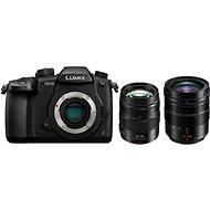 Panasonic LUMIX DMC-GH5 + Leica DG 12–60 mm f/2,8–4,0 + Panasonic Lumix G X 12–35 mm f/2,8 II Power O - Digitálny fotoaparát