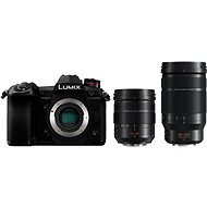 Panasonic LUMIX DC-G9 + Leica 12–60 mm f/2,8 – 4,0 ASPH Power OIS čierny + Leica DG Elmarit 50–200 mm f/2