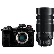 Panasonic LUMIX DC-G9 telo + Leica DG Vario-Elmar 100–400 mm f/4,0 – 6,3