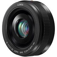 Panasonic Lumix G 20 mm f/1,7 čierny