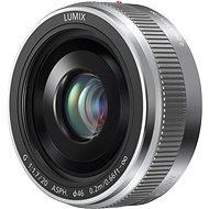 Panasonic Lumix G 20 mm f/1,7 strieborný - Objektív
