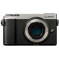 Panasonic Lumix DC-GX9 telo strieborný - Digitálny fotoaparát