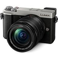 Panasonic Lumix DC-GX9 + 12–60 mm strieborný - Digitálny fotoaparát