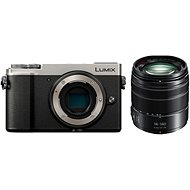 Panasonic Lumix DC-GX9 + 14–140 mm strieborný - Digitálny fotoaparát