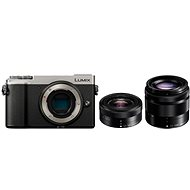 Panasonic Lumix DC-GX9 + 12–32 mm + 35–100 mm strieborný - Digitálny fotoaparát