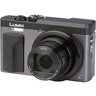 Panasonic Lumix DC-TZ90 strieborný - Digitálny fotoaparát