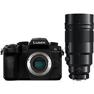 Panasonic LUMIX DC-G90 telo čierny + Panasonic Leica DG Elmarit 200 mm f/2,8 Power O.I.S + Telekonvert