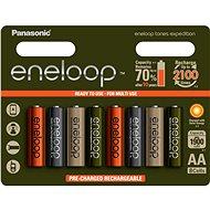 Panasonic AA nabíjacie batérie NI-MH
