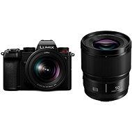 Panasonic Lumix DC-S5 + 20-60 mm + Lumix S 50mm f/1.8 - Digitálny fotoaparát
