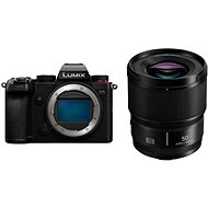 Panasonic Lumix DC-S5 tělo + Lumix S 50mm f/1.8 - Digitálny fotoaparát