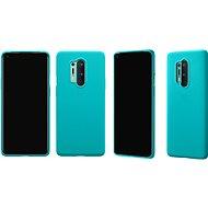 OnePlus 8 Pro Sandstone Bumper Case (Cyan) - Kryt na mobil