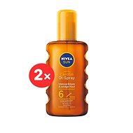 NIVEA SUN Carotene Oil Spray SPF 6 2 × 200 ml