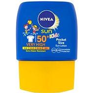 NIVEA SUN Kids Pocket Size SPF 50+ 50 ml - Mlieko na opaľovanie